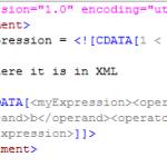 Image of CDATA code